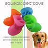 2015 custom design dog toy shoes,dog vinyl popular shoes