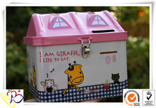 House Tins wholesale metal box/house tin can