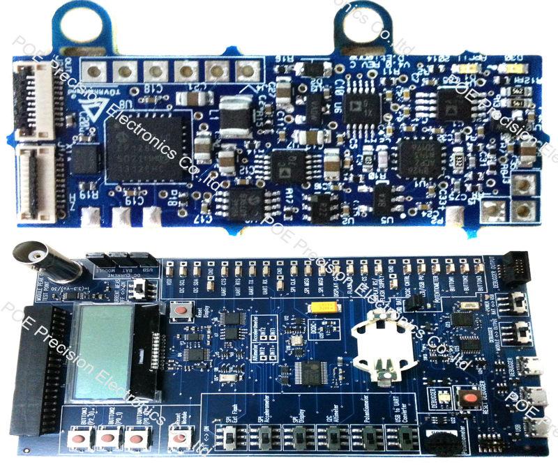 sensor fr4 pcb montagem da placa