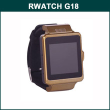 "RWATCH G18 MTK6260A 1.54"" Touch Screen Android GPS Smart Watch Phone Support Health Tracking"