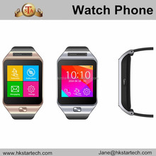 Touch Screen Wrist smart watch Bluetooth Sports SIM Phone watch for Android Phone