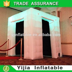 Best quality portable wedding party decoration photo booth inflatable