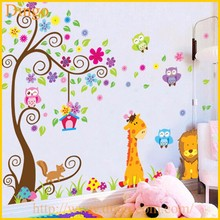 Tree Branch Wall Mural Decals Baby Girl Nursery Kids Room Sticker Home Decor