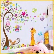 Tree Branch Wall Mural Decals Baby Girl Nursery Kids Room Sticker Home Decor