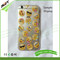Funny QQ Emotion 5mm Moving Eyes Mobile Phone Case For iPhone 6/6s