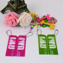 rubber novelty book mark paper clips