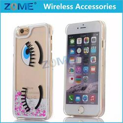 China Suppliers Fashion Cool Quicksand Case Cover For Iphone 6