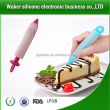 Silicone Food Writing Pen Cake Mold Cream Cup Chocolate Decorating Pen