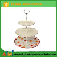 100% melamine Multi-Layer Cake Stand