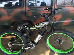 250W fat tyre kettle battery electric dirt bike