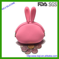 Handmade wholesale cheap silicone coin purse ladies gifts purse