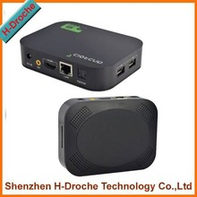 hottest model Mini A20 Cor tex A9 Dual Core TV Box Andriod 4.2 1GB RAM 4GB Flash HD MI RJ45 with Remote Control optical port