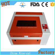 cnc laser NC-S4040 portable rubber stamp making machine cutting machine