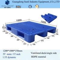 1200 1000 Shipping HDPE Euro Plastic Brick Pallet