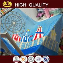 2015 new design ultra premium quality kids hooded beach towels/poncho with great price