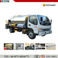 bitumen emulsion sprayer ,bitumen distributor truck