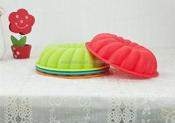 OEM Eco-friendly silicone hamburger bun baking pan