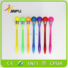 2015 hot selling item promotional plastic ball pen with logo from china factory