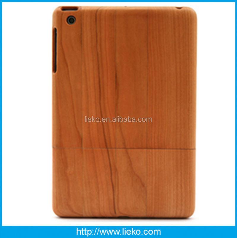 New design fashion wood and bamboo case for Ipad mini/mini2
