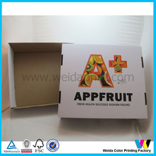 strong structure fresh fruit corrugated box packaging