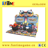 motorcycle coin operated game machine / new designed electric motorbike / game machine for moto
