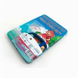 unique embossed round cd case with zipper