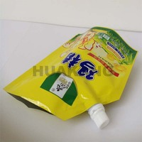 Standing 220g chicken essence seasoning bag with spout