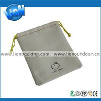 Fashionable hotsell useful coarse linen pouch