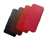 good quality colorful microfiber leather flip case for iphone 5 5s 5c