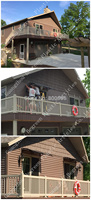 Waterproof Polycarbonate Window Awning Transparent DIY PC Outdoor Canopy