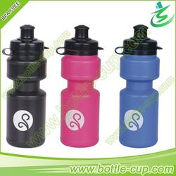 300ml PE eco-friendly transparent sports bottle plastic with custom logo
