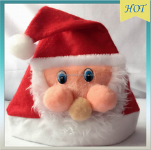 New Year 2016 Cartoon Santa Christmas Hat , Christmas Gifts , Decorations For Home Christmas Ornaments Cheap