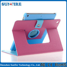 360 Degree Rotating Leather Case for ipad air 2, for ipad air2 case