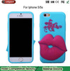 waterproof silicone case for iphone5s silicone iphone case silicone case for apple 5 mobile positive