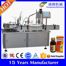 GMP requirement Automatic filling and capping machine, auto filling machine(CE Certificate)