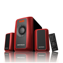The perfect sound and strong bass 2.1 speaker system best for family