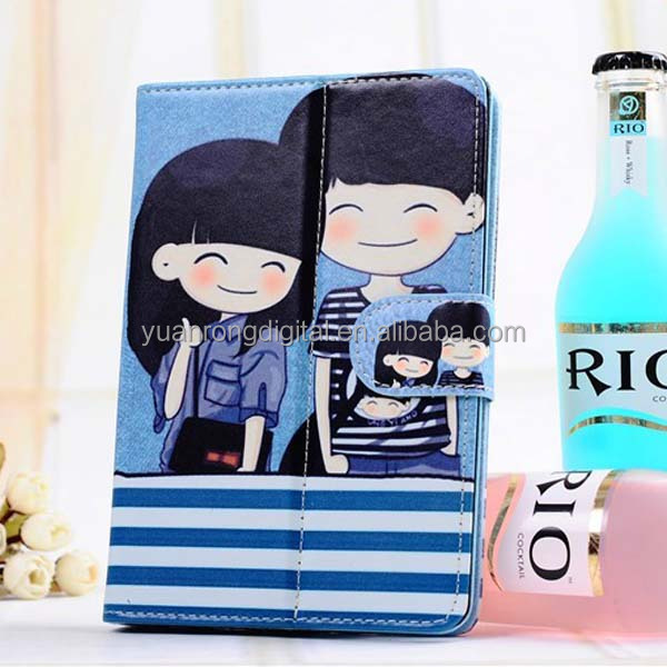 Cartoon Design Leather Tablet PC Case for iPad Mini