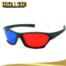 high quality plastic 3d spectacles for movie