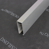 ISO Certificated Lightweight Ceiling Aluminum Suspended Slat Ceiling Material