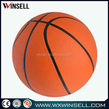 2015 deflate rubber basketball weight 150-200g