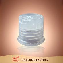 NEW realistic type plastic bottle Transparent Clear acrylic snap on plastic cap for bottle, plastic soda bottle cap