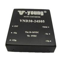 2.0*2.0inches 30W 24V to 5V buck dc dc power supply