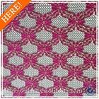 Design de moda laço de tecido para vestuário comum