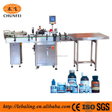 Hot Melt Adhesive Applicator For Labels With Small Round Bottles