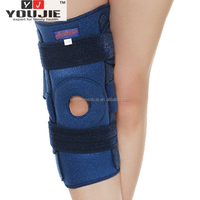 basketball knee sleeve for patella protection