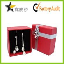 2015 High quality earring gift set box,paper earring box set,earring gift box