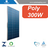 Best price 300w poly crystalline solar panel connect to power inverter for on grid photovoltaic panel system