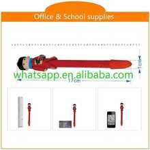 Hot sale new design cheap polymer clay ball pen custom novelty pen