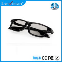 Cheap Price Wholesale DLP 3D Polarized Glasses for Passive 3D Cinema