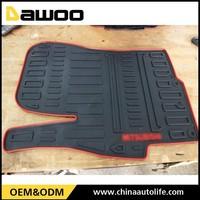custom mold for carpet 3d car mat , red carpet car rubber parking mats